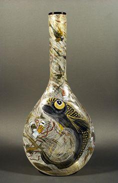 Deb Cocks - 1996 Finalists - Ranamok Glass Art, Sculptures, Ceramics, Art