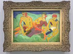 #Derain The Radical Decade, 1904-1914 #Pompidou @centrepompidou Three Figures on the Grass, 1906 @voguemagazine