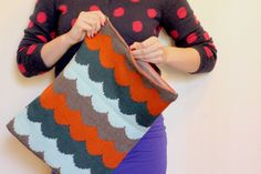 Scallop of the Sea Knitting Pattern by Katie Canavan | Holla Knits... 4.00