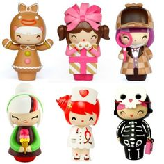 Message Dolls by Momiji