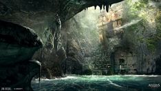 Smuggler Cave - Characters & Art - Assassin's Creed IV: Black Flag