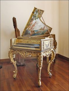 Le musée national des instruments de musique (Rome) Clavicembalo XVIII secolo     #TuscanyAgriturismoGiratola