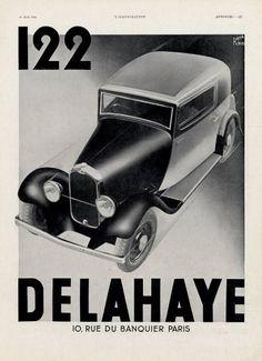 Delahaye 1933 René Ravo