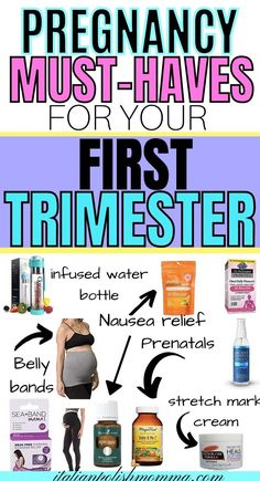 First trimester Pregnancy Must Haves that helped me survive those first tough weeks of pregnancy! I've had 4 babies and here are THE BEST first trimester pregnancy products that every mom needs… More Pregnancy Chart, Pregnancy Must Haves, Pregnancy Advice, Trimesters Of Pregnancy, First Pregnancy, Coffee During Pregnancy, Nausea During Pregnancy, Pregnancy Products, Creative Pregnancy Announcement