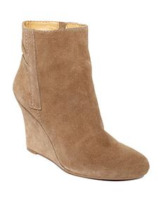 Nine West Shoes, Gottarun Wedge Booties - Boots - Shoes - Macy's