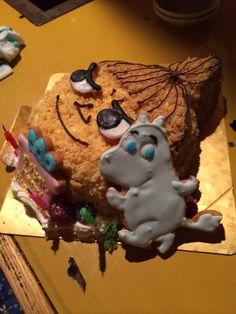 for me♡moomin cake♡ happy birthday me♡