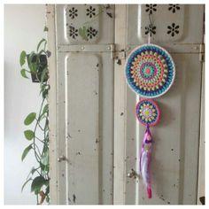 Crochet medallions