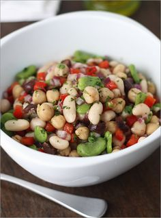 Mediterranean White Bean & Cucumber SaladTasty, refreshing salad for a main course or side dish Ingredients1 15-oz can low-sodium Northern White Beans (or garbanzo beans), rinsed & drained1…