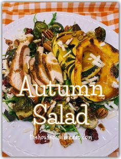 Autumn Salad (with Sweet Dumpling Squash) - The House on Silverado