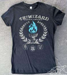 HARRY POTTER TRIWIZARD Turnier Damen Shirt von waycooltshirts