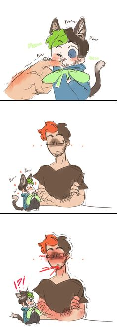 """Mark no you need that in you please don't die!""~ Tiny Jacksepticcat"