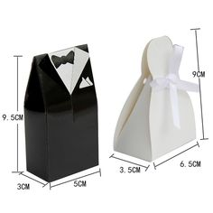 Bulk Lot x 200 pcs (100 Pairs) Gown Tuxedo Bride Groom Wedding Bridal Favor Candy Box Christmas Gift