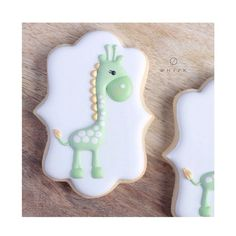 """524 Likes, 38 Comments - WHISK   julie moore (@shopthewhisk) on Instagram: """"Thursday just got a little cuter.#mintandgold #giraffes #sugarcookies #shopthewhisk"""""""