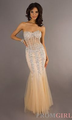 19abab278c0 Buy Classical Beaded Bodice Sweetheart Mermaid Organza Embellished Prom  Dress On line