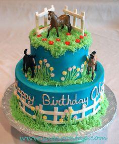 Olivia's Horse Cake on Cake Central