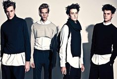 Paul Boche, Aiden Andrews, Peter Bruder, Miles Garber & Wes Phillips by Taea Thale for Essential Homme