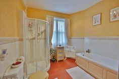 Facilities: The castle has two bathrooms, one of which is an en-suite, and is described as a 'beautiful and practical family home'