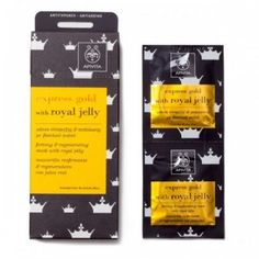 Buy Apivita by Express Gold Firming and Regenerating Mask With Royal Jelly from our Women range - @ Pharmeden My Beauty, Health And Beauty, Beauty Hacks, Neroli Essential Oil, Essential Oils, Beauty Express, Royal Jelly, Hair Spa, Skin Mask