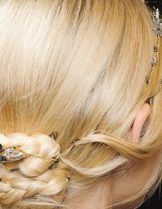 hair at valentino haute couture autumn/winter 2011-2012