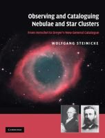 Observing and cataloguing nebulae and star clusters : from Herschel to Dreyer's new general catalogue / Wolfgang Steinicke. Classmark: 1 (also available as an ebook) American Girl Crafts, American Dad, Galaxy Slime, Object Photography, Whirlpool Galaxy, Star Cluster, Andromeda Galaxy, Galaxy Art, Herschel