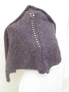 châle tricot avec tuto