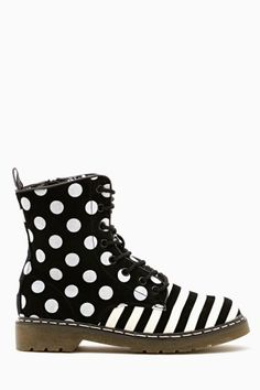 Pattern Play Combat Boot