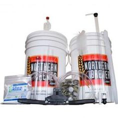 Start home brewing with a Northern Brewer brewing starter kit! Each home brewing kit includes the equipment & ingredients you'll need to brew your own beer at home. Starter Home, Starter Kit, Beer Brewing Kits, Home Brewing Equipment, Good Excuses, Man Food, How To Make Beer, Light Beer, Wine And Beer