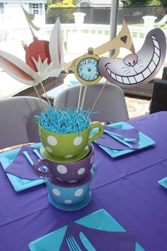 Mad Hatter/Alice in Wonderland Birthday Party Ideas | Photo 3 of 58 | Catch My Party