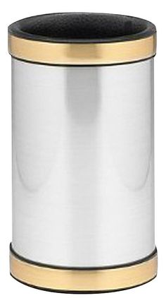 Kraftware Mylar Deluxe Wine Chiller w/ Bands, Brushed | Free Shipping