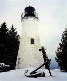 ... lighthouse in this area built in 1840 light houses michigan light