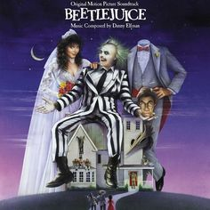 "BEETLEJUICE: Directed by Tim Burton. With Alec Baldwin, Geena Davis, Michael Keaton, Annie McEnroe. A couple of recently deceased ghosts contract the services of a ""bio-exorcist"" in order to remove the obnoxious new owners of their house. Film Movie, See Movie, 80s Movies, Great Movies, Horror Movies, Movies To Watch, Childhood Movies, Good Halloween Movies, Crazy Movie"