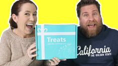 Treats Box Unboxing Candy & Snacks From U.K.