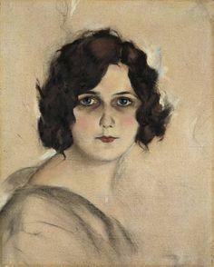 "Christian Schad (German)  ""Marcella"", 1923"