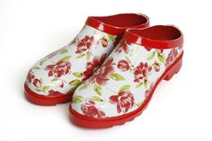 Christmas gardener gift idea. Laura Ashley garden clogs.
