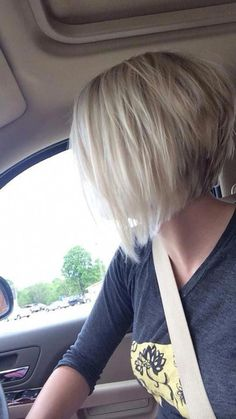Short Hair With Layers, Short Hair Cuts, Short Hair Styles, Inverted Bob With Layers, Short Inverted Bob, Bob Hair Cuts, Choppy Layers, Short Curls, Long Bob