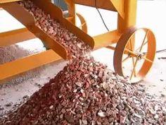 Reciclador de entulhos da construção civil - QUEIXADA - RECICLAGEM DE ENTULHOS
