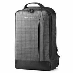 2534492a10 Batoh pro notebook HP HP Slim Ultrabook Backpack Černá Šedá
