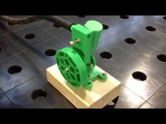 3D Printed Oscillating Engine - YouTube