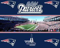 Gillete Stadium Patriots Wallpaper