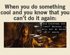 Pirates of the Caribbean, funny!