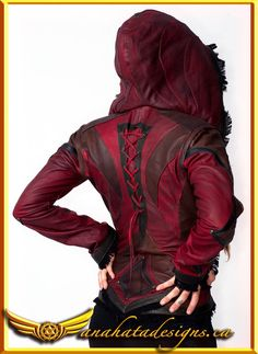 Women's Victory leather jacket