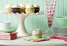 This cake stand is charming!  One Kings Lane - Something Sweet