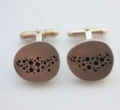 Sterling Silver Cufflinks by Susan Frisch