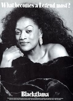 """Jessye Norman - Blackglama Mink """"What Becomes A Legend Most?"""" Ad Campaign (1992)."""
