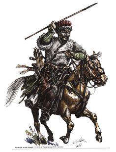 Nogai light horseman, 16th-17th century