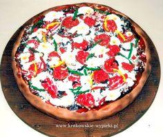 Tort Pizza zrobiony przez Cukiernię Krakowskie Wypieki