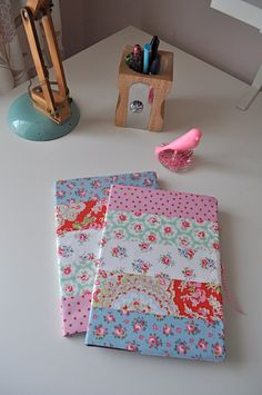 Pretty Covered Notebook A5  15.00 Cath Kidston by HenHouseHomemade