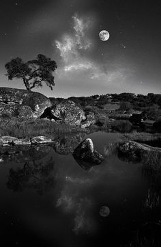 27 Black and White Landscape Images by Darren Rowse via digital-photography-school