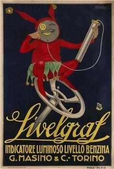 achille lucien mauzan   By Lucien Achille Mauzan (1883-1952), Livelgraf. (Italy)