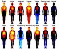 Wie sich die Körpertemperatur bei Emotionen verhält